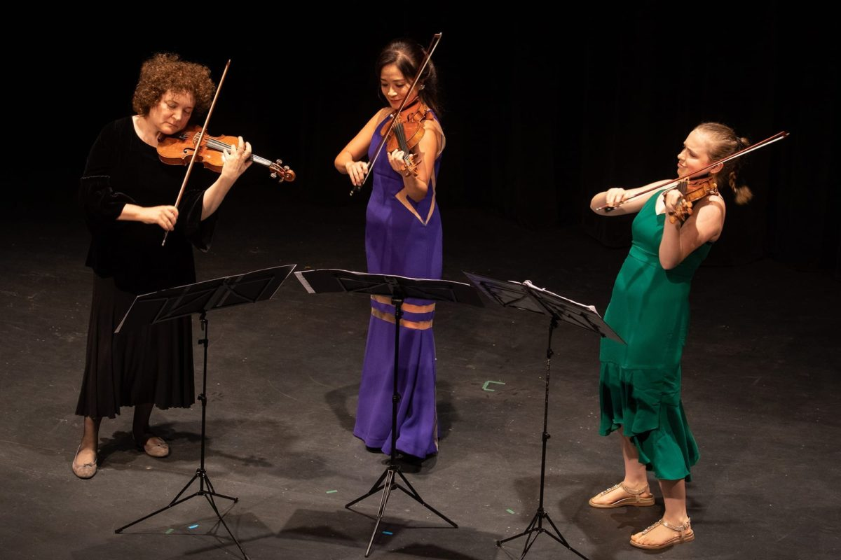 Lilit Gampel, Chee-Yun, Charlotte Marckx - Photo Credit Barry Carlton
