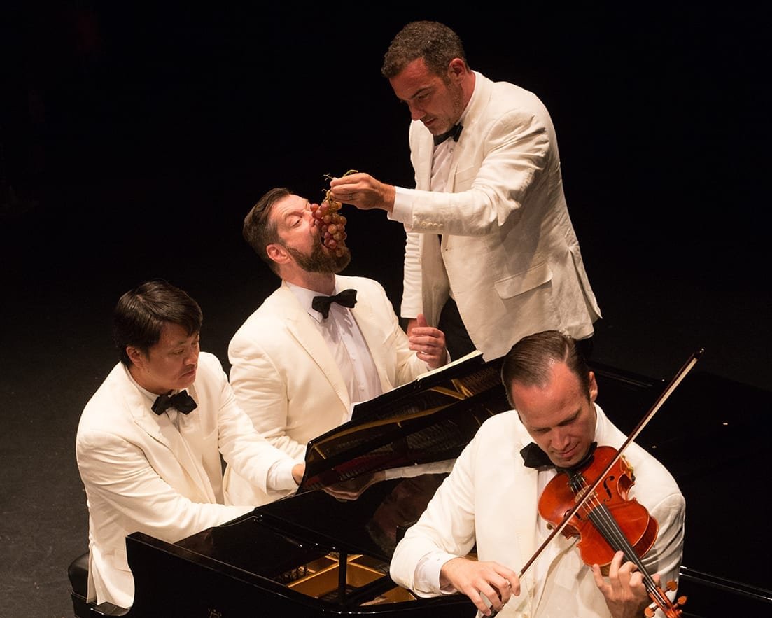 Miró Quartet - Photo Credit Barry Carlton