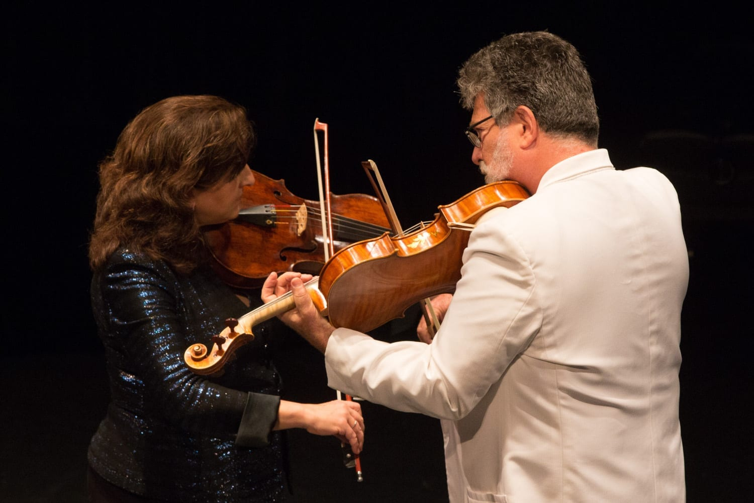 Aloysia Friedmann and Toby Appel - Photo Credit Barry Carlton