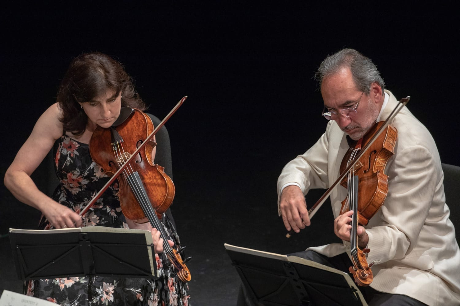 Aloysia Friedmann and Toby Hoffman - Photo Credit Barry Carlton