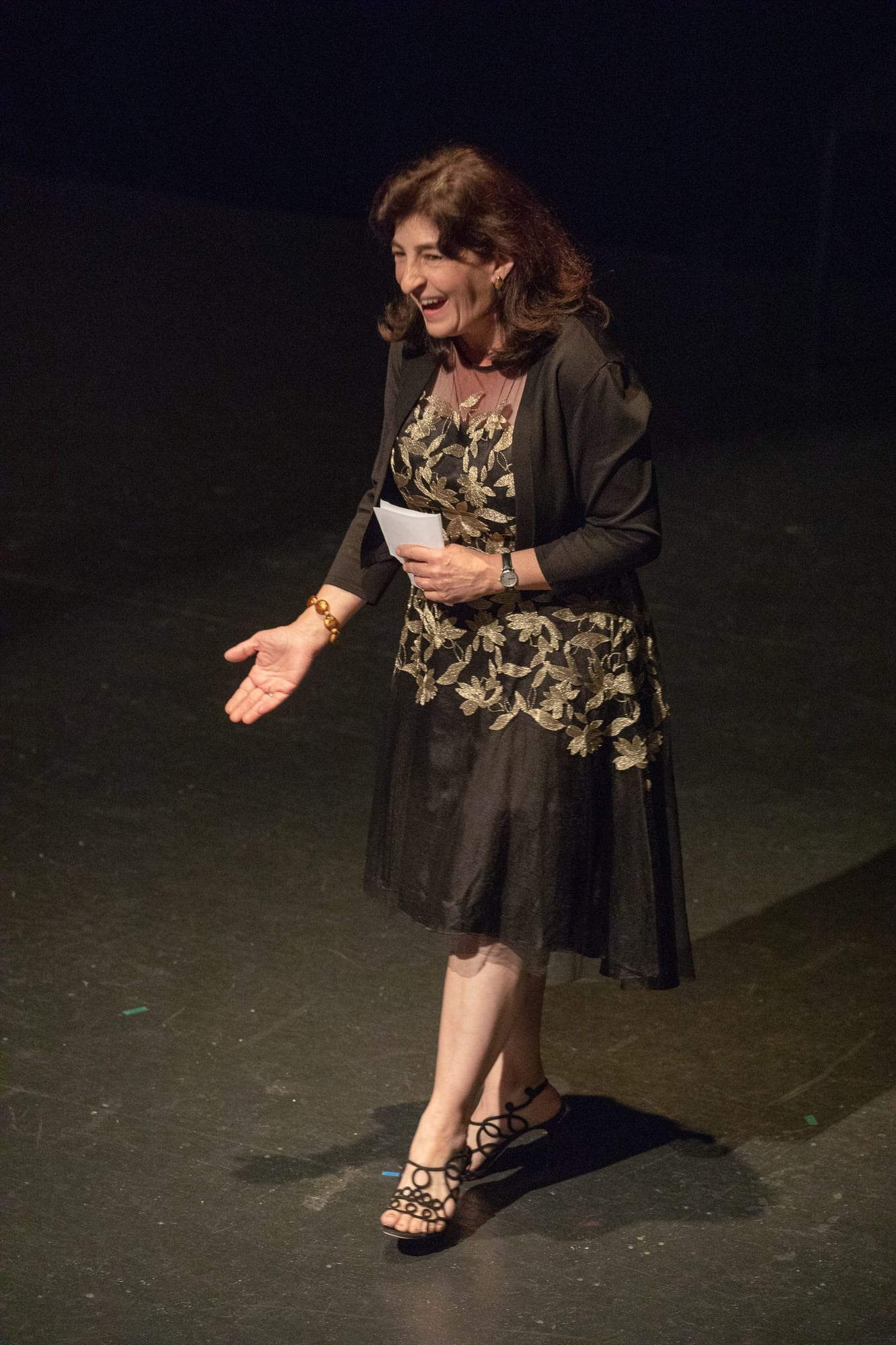 Aloysia Friedmann Speech - Photo Credit Barry Carlton