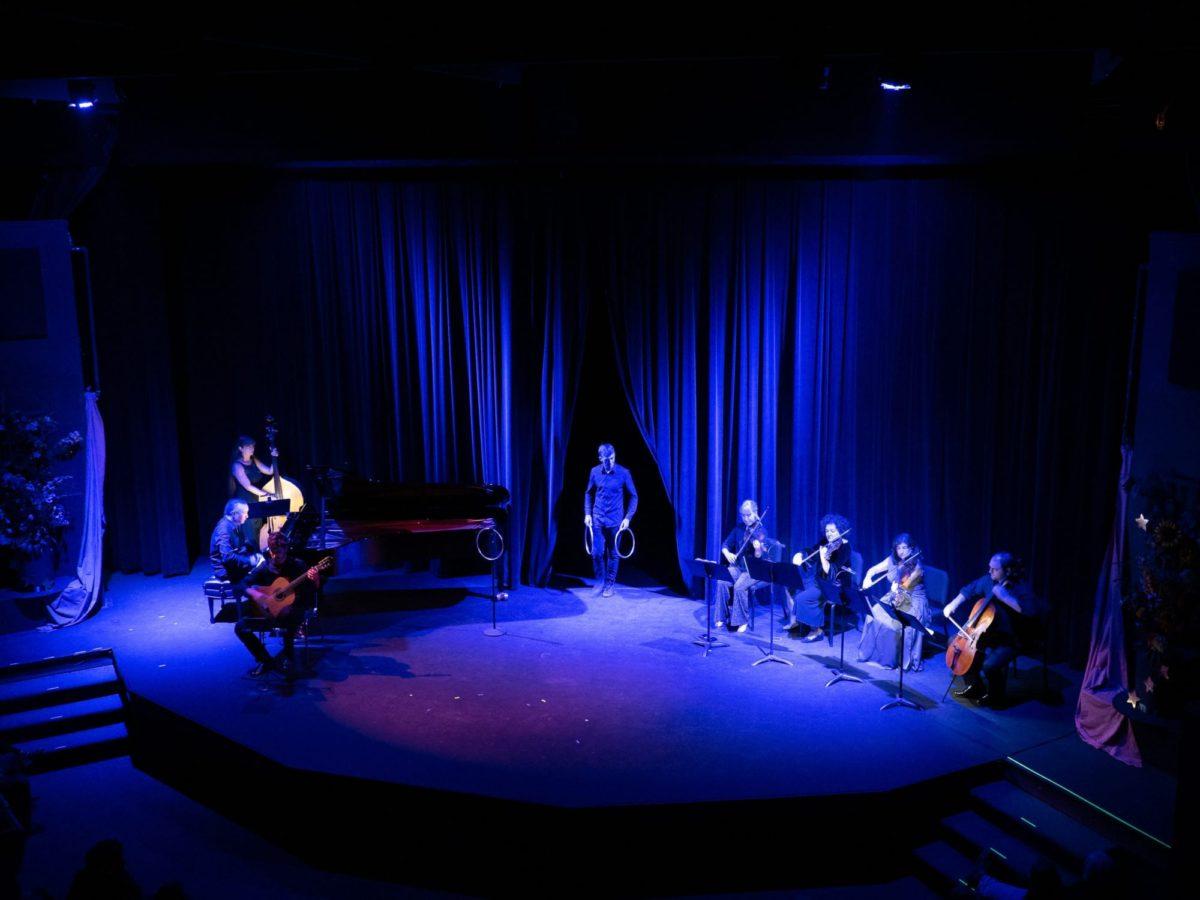 Matthew Laslo and the OICMF Magic Ensemble - Photo Credit Barry Carlton