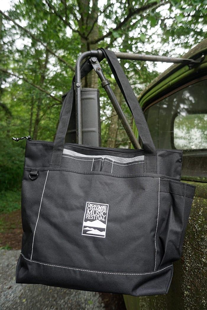 Zippered Pocket Tote Bag