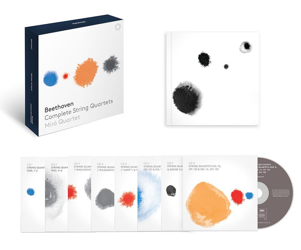 Miro Quartet–beethoven Complete String Quartets 8 Cd Set