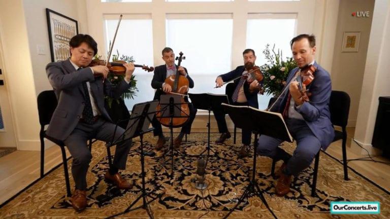 Miro Quartet Live 2020 With Oicmf