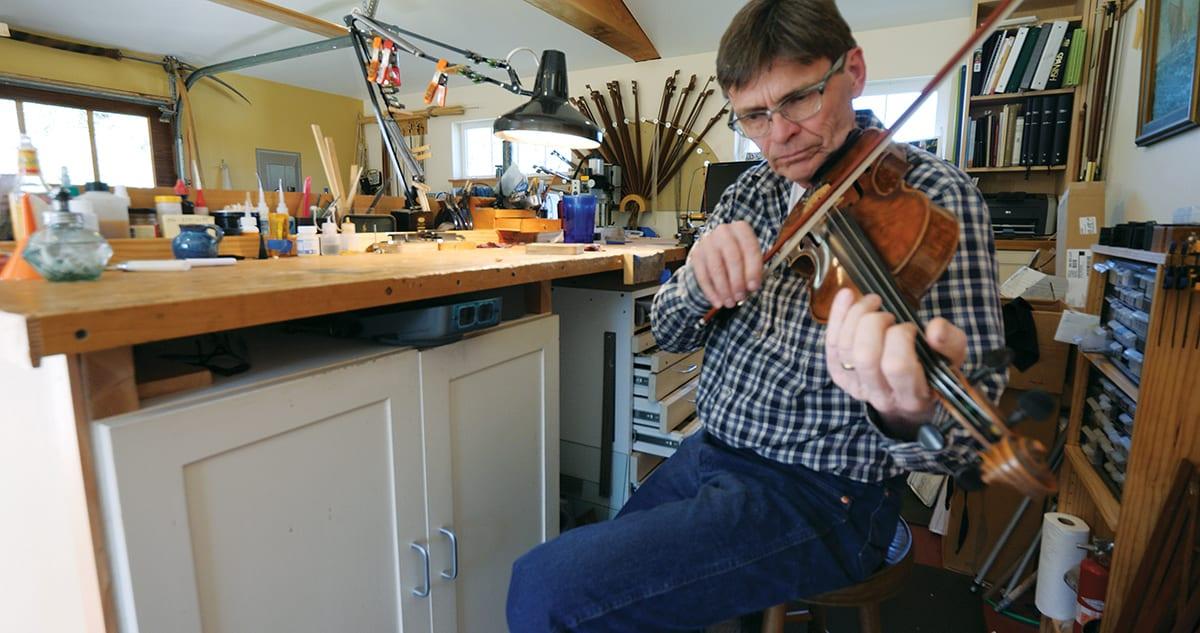 Bowmaker Ole Kanestrom