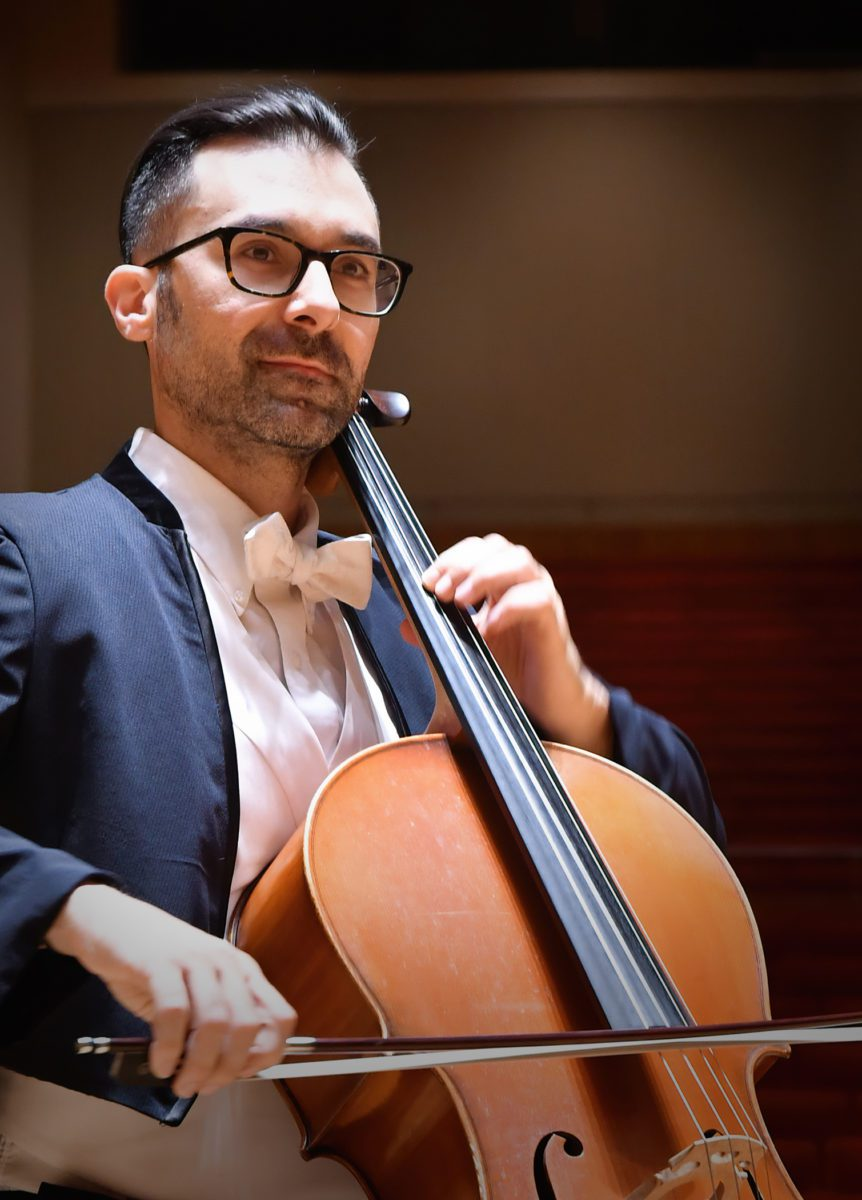 Lachezar Kostov cello